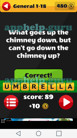 Riddle Me That Itch Mania General 1 18 What Goes Up The Chimney