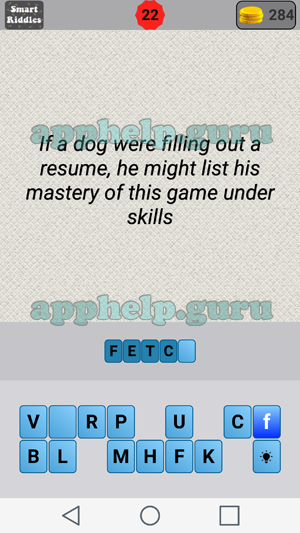Smart Riddles Level 22 Answer Game Help Guru