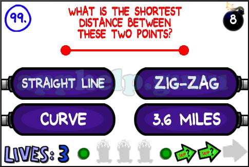 The Impossible Quiz 2 (iOS): Level 99 - Game Help Guru