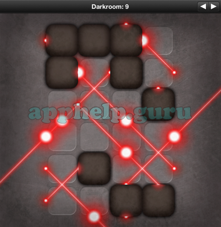 Darkroom 9 lazors