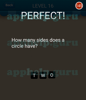 how many sides does circle have