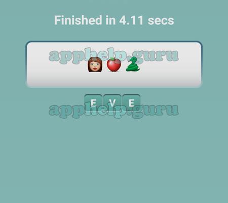 Emoji Pop Level 9 Emojis Girl Apple Snake Answer Game Help Guru