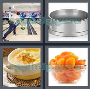 4 Pics 1 Word: Level 1701 to 1800: 4 Letters Picture 1726 Answer