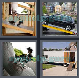 4 Pics 1 Word: Level 1701 to 1800: 4 Letters Picture 1766 Answer