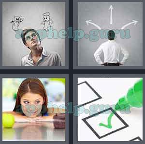 4 картинки 1 слово 134 уровень