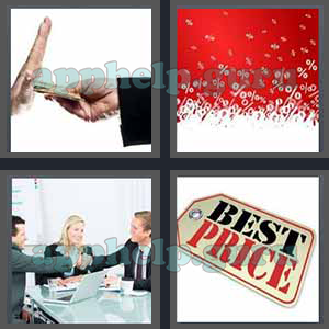 4 Pics 1 Word: Level 3201 to 3300: 7 Letters Picture 3201 Answer