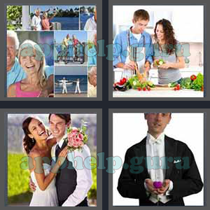 4 Pics 1 Word: Level 3201 to 3300: 7 Letters Picture 3216 Answer