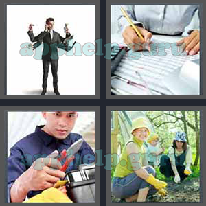 4 Pics 1 Word: Level 3201 to 3300: 7 Letters Picture 3217 Answer
