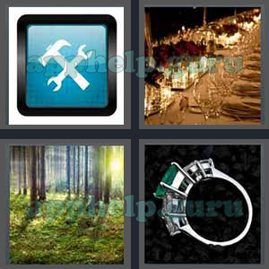 4 Pics 1 Word: Level 3201 to 3300: 7 Letters Picture 3218 Answer