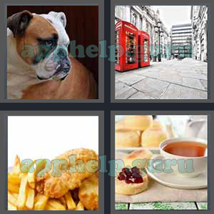 4 Pics 1 Word: Level 3201 to 3300: 7 Letters Picture 3245 Answer