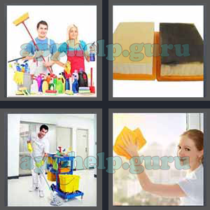 4 Pics 1 Word: Level 3201 to 3300: 7 Letters Picture 3280 Answer