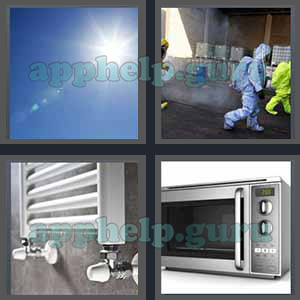 4 Pics 1 Word: Level 3201 to 3300: 7 Letters Picture 3282 Answer