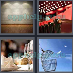 4 Pics 1 Word Level 401 to 500 5 Letters Picture 424 Answer