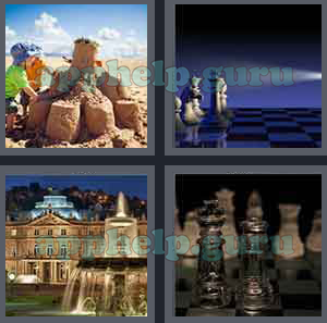 4 Pics 1 Word Level 401 to 500 6 Letters Picture 489 Answer Game