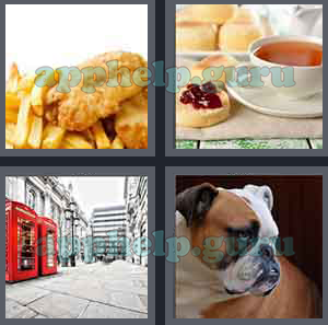 4 Pics 1 Word: Level 601 to 700: 7 Letters Picture 624 Answer