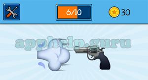 EmojiNation: Emojis Wind, Gun Answer