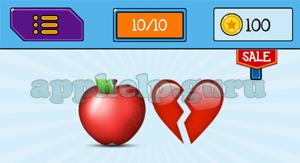 EmojiNation: Emojis Apple, Broken Heart Answer