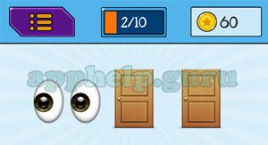 EmojiNation: Emojis Eyes, Door, Door Answer