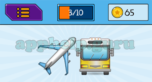 EmojiNation: Emojis Plane, Bus Answer