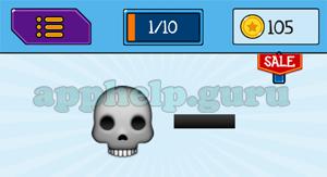EmojiNation: Emojis Skull, Line Answer
