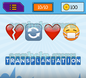 EmojiNation: Emojis Broken Heart, Repeat, Heart, Face with mask