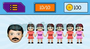 EmojiNation: Emojis Man, 3 women couples Answer