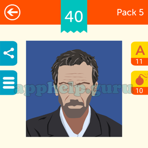 Guess The Character: Pack 5 Level 40 Answer