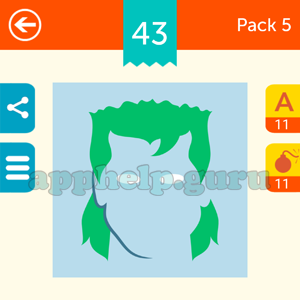 Guess The Character: Pack 5 Level 43 Answer