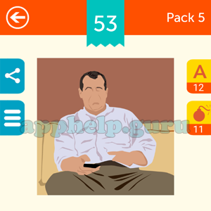 Guess The Character: Pack 5 Level 53 Answer