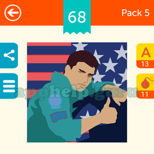 Guess The Character: Pack 5 Level 68 Answer
