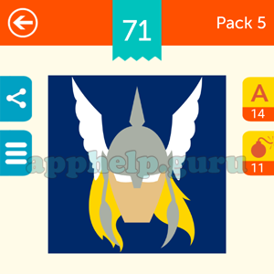 Guess The Character: Pack 5 Level 71 Answer