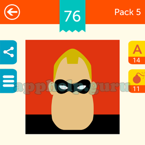Guess The Character: Pack 5 Level 76 Answer