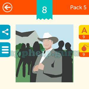 Guess The Character: Pack 5 Level 8 Answer