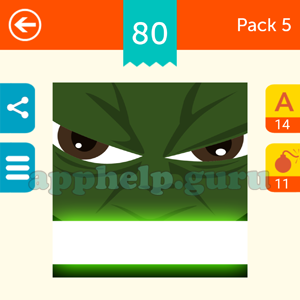 Guess The Character: Pack 5 Level 80 Answer