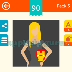 Guess The Character: Pack 5 Level 90 Answer