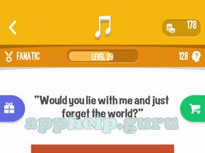 Song Quiz: All Fanatic Answers - Game Help Guru