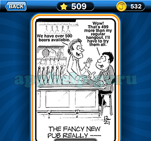 Just Jumble: Level 509 The fancy new pub really Answer