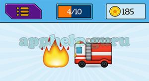 EmojiNation: Emojis Fire, Truck Answer