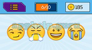 EmojiNation: Emojis Snicker Emoji, Mad Emoji, Happy Emoji, Crying Emoji Answer