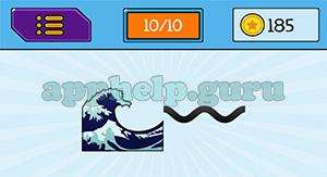 EmojiNation: Emojis Ocean/Wave, Wave Answer