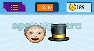 EmojiNation: Emojis Old Man, Hat Answer