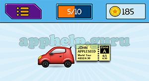 EmojiNation: Emojis Car, Ticket Answer