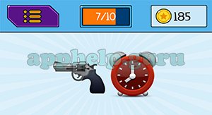 EmojiNation: Emojis Gun, Clock Answer