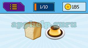EmojiNation: Emojis Bread, Dessert Answer