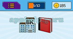EmojiNation: Emojis Bank, Book Answer