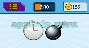 EmojiNation: Emojis Clock, Bomb Answer