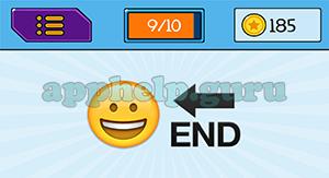 EmojiNation: Emojis Smiley, End Arrow Answer