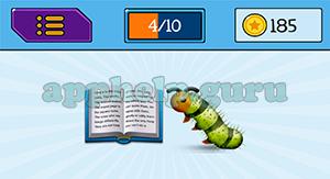 EmojiNation: Emojis Book, Worm Answer