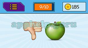 EmojiNation: Emojis Thumbs Down, Apple Answer