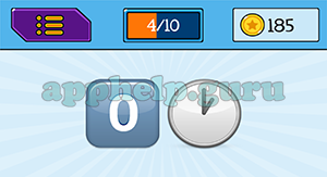 EmojiNation: Emojis Zero, Clock Answer